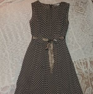 Dress Barn - Sheer Dress with slip